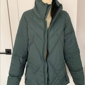 Champion green jacket/coat. Size M